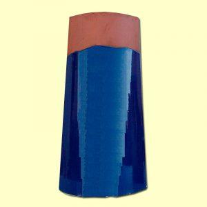 Teja Esmaltada Azul